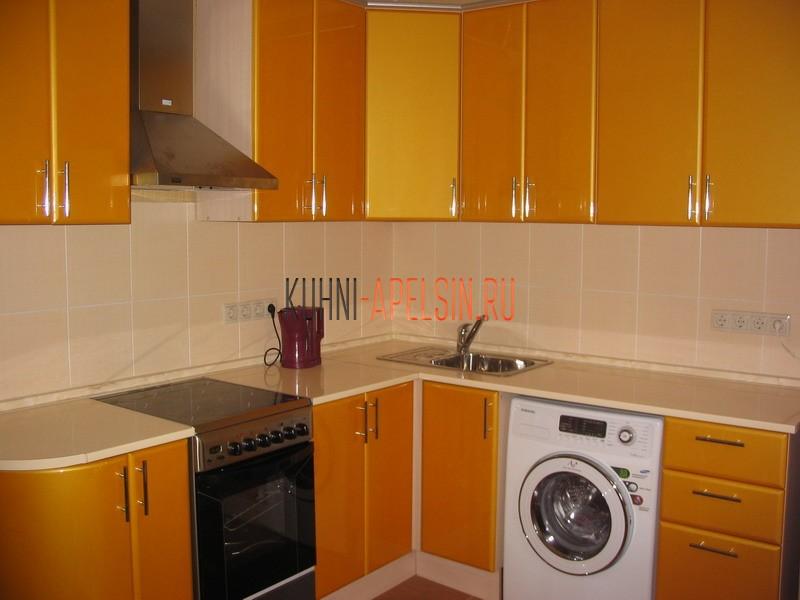 Дизайн кухни 12 кв м со стиральной машиной