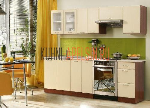 Мини-кухня от фабрики Апельсин