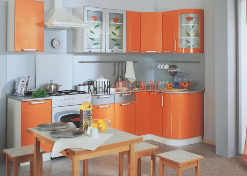Кухонный гарнитур Спелый Абрикос от фабрики Апельсин