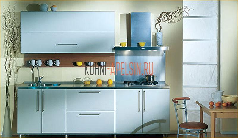 Кухонный гарнитур Голубая Лагуна от фабрики Апельсин