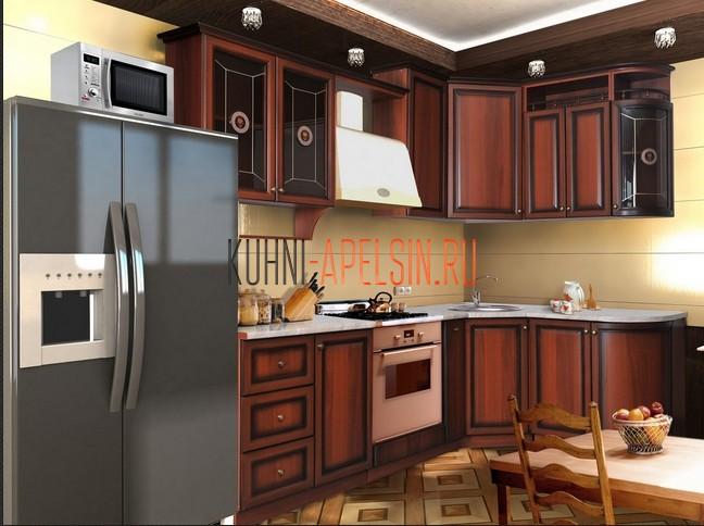 Дизайны классических угловых кухонь 9 кв м