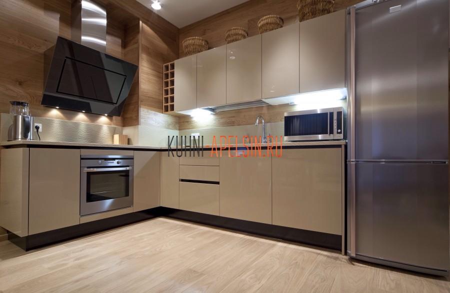 Кухонный гарнитур из акрила от фабрики Апельсин