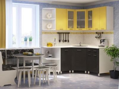 Разноцветные кухни