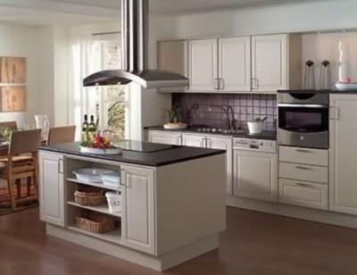 """Кухня с островом на заказ от фабрики """"Апельсин"""""""