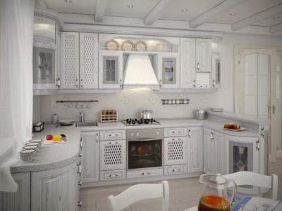 купить кухню в стиле прованс на заказ в москве