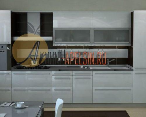 Кухня светлая 11