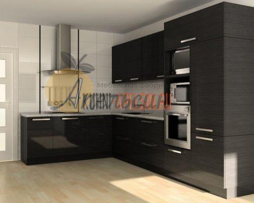 Кухня темная 13