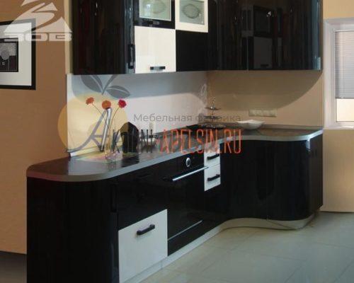 Кухня темная 14