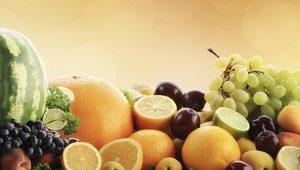 Скинали с фруктами