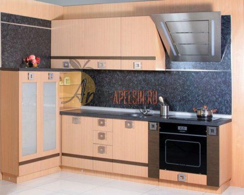 Кухня древесная 10