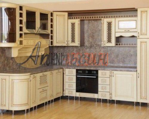 Кухня древесная 11
