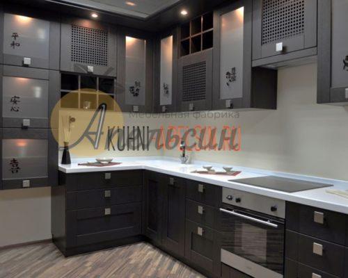 Кухня древесная 12
