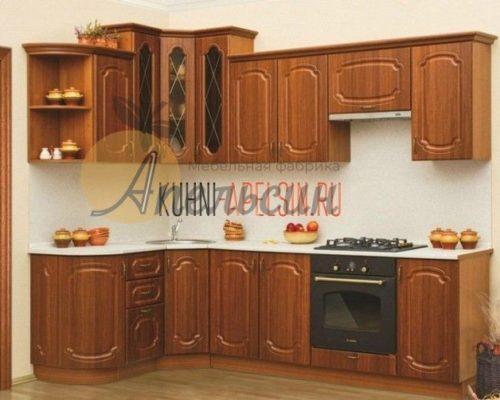 Кухня древесная 14