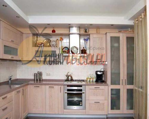 Кухня древесная 15
