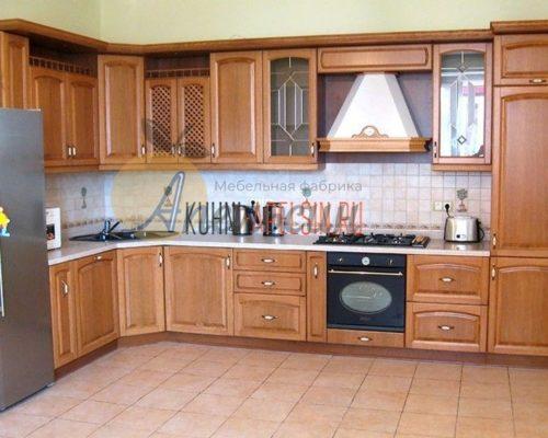Кухня древесная 16