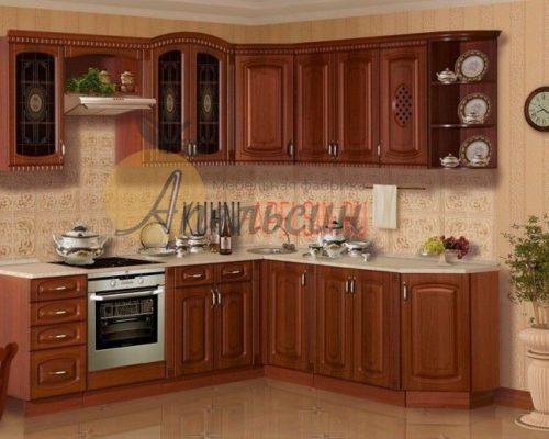 Кухня древесная 17