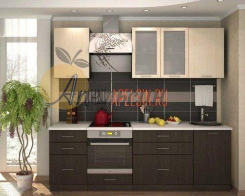 Кухня древесная 18