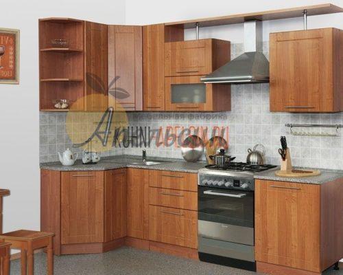 Кухня древесная 19