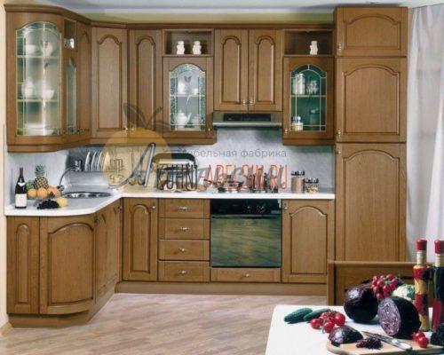 Кухня древесная 20