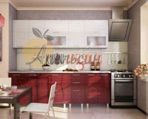 Кухня красная 10