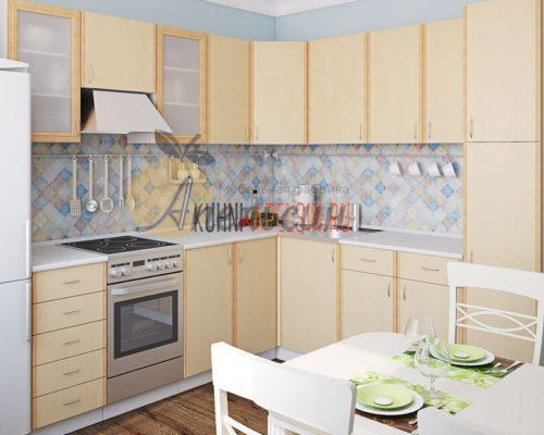 Кухня светлая 15