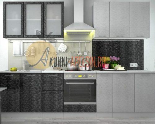 Кухня темная 11